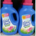 Final Touch Fabric Softener Only $0.48 at Walmart