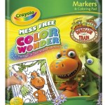 Crayola Color Wonder Dinosaur Train Coloring Pad and Markers Only $5.49!