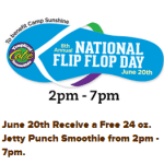 FREE Jetty Punch Smoothie at Tropical Smoothie Cafe