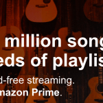 Amazon Prime Music: FREE Unlimited, Ad-Free Streaming of Over 1 Million Songs