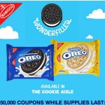 $1/2 packages of Oreo cookies AND 1 Gallon of Milk Coupon (First 50,000!)