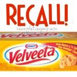 RECALL on Kraft Velveeta Cheese!