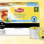 2 FREE Lipton K-Cup Tea Samples