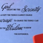 GOD GRANT ME THE SERENITY Vinyl Wall Stickers Decal Only $3.84 Shipped