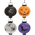 Amazon: 4x Halloween Paper Lanterns Only $5.08 Shipped