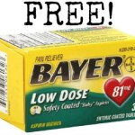 Free Bayer Aspirin at Kroger