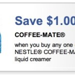 High Value $1/1 Coffee-Mate Creamer Coupon!