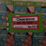 *HOT* HUGE BOX of Pampers Baby Dry Diapers AND Wipes ONLY $7.74 (Reg. $42.99)!