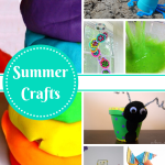 List of 10 Summer Crafts to do with the Kids!
