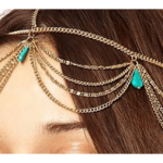 Amazon: Vintage Bohemian Turquoise Hair Chains Only $6.52 Shipped