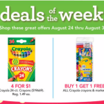 *HOT* Toys R Us: Crayola Crayons 24 ct boxes ONLY $0.25 + More!