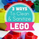 3 Ways To Clean and Sanitize Legos