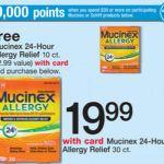 Walgreens: Mucinex 24 Hr Only $4.50 (Thru 8/30)