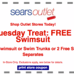 Sears Outlet: FREE Swimsuit, Swim Trunks, or Swim Separates (Today Only)