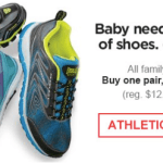 *HOT* Kmart: Buy 1 Athletic Shoe and Get 1 for $1 Sale = Only $4.50 Per Pair!