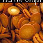 Crispy Easy Carrot Chips