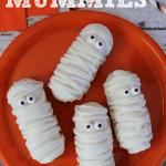 Twinkie Mummies (Halloween Recipe)