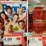 Target: Better Than FREE People Magazine & Fruitwater