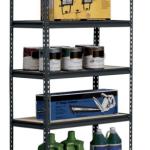 Amazon: Heavy Duty Steel 5-Shelf Shelving Unit Only $37.68 Shipped (Holds 4,000 Pounds!)