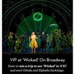 """*HOT* Win FREE Plane Tickets to NY, Plane Tickets, Broadway Show """"Wicked"""" Tickets, Hotel Stay and More!"""
