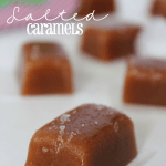 Homemade Salted Caramels (Great Gifts!)