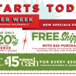 Kohl's Cyber Monday Sale is LIVE!!!!!! 20% Off, FREE Shipping, $15 Kohl's Cash and More!