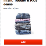 Target: 40% Off Clothing Cartwheel Offers