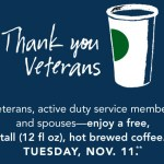 Starbucks: *HOT* FREE Tall Brewed Coffee for Veterans, Active Duty, & Spouses!