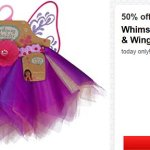 *HOT* Target: Whimsy and Wonder Tutu and Wings ONLY $5.62!