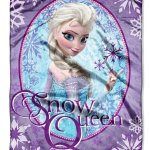 "Amazon: Disney Frozen ""Snow Queen"" Plush Micro Raschel Throw Only $14.46 (Reg. $29.99)"