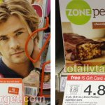 Target: People Magazine and Zone Perfect Chocolate PB Bars Only $1.88