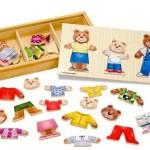 Melissa & Doug Wooden Bear Family Dress-Up Puzzle ONLY $8.99 (Reg. $14.99)!