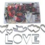 Amazon: R & M Love 9 Piece Cookie Cutter Set Only $11.48