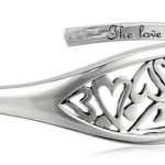 "Amazon: Sterling Silver ""The Love Between A Mother and Daughter Knows No Distance"" Heart Cuff Bracelet Only $42.76 Shipped (Reg. $135)"