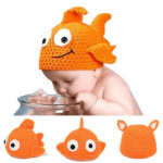 Amazon: Newborn Knit Crochet Goldfish Cap Only $6.26 Shipped (Reg. $20.98)