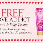FREE Love Addict Hand & Body Cream from Victoria's Secret (Today Only)!