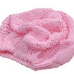 Pink Wool Chunky Knit Beanie Hat ONLY $3.69 + FREE Shipping!