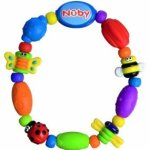 Amazon: Nuby Bug A Loop Teether Bead, Colors May Vary – 2 Pack Only $10.99 (Reg. $22.99)