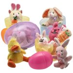 "Amazon: Jumbo 6"" Easter Eggs Filled with Plush Easter Bunny's Ducks and Hamsters Only $19.57 (Reg. $29.99)"