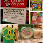 Target: FREE $5 Gift Card with $25 Easter Shop Purchase Mobile Coupon