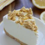 Lemon Oreo No Bake Cheesecake