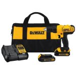 Amazon: DEWALT DCD771C2 20V MAX Lithium-Ion Compact Drill/Driver Kit Only $99 Shipped (Reg. $149.99)