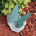 Amazon: Design Toscano Emerald Verde Butterfly on Rock Statue Only $38.90 SHipped (Reg. $1,247.37 ?!?)