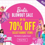 *HOT* 70% Off Mattel Barbie Items = GREAT DEALS!