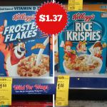Walgreens: Kellogg's Cereal ONLY $1.37!