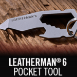 FREE Leatherman 6 Pocket Tool + FREE Shipping