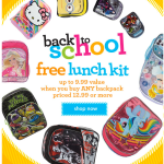 Toys R Us: FREE Lunch Kit with a Backpack Purchase ($9.99 Value) + $2.00 Crayola Sale!