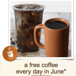 Panera Rewards Members: FREE Cup of Coffee Every Day During the Month of June