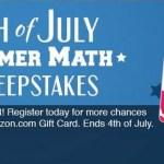 FREE Summer Math Program (a $39.95 value!) – 1st Grade Through High School + Win $25 Amazon Gift Card!