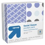 Target: Up & Up 4-ct Pocket Packs Facial Tissue Only $0.46